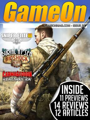 GameOn Magazine Issue #55