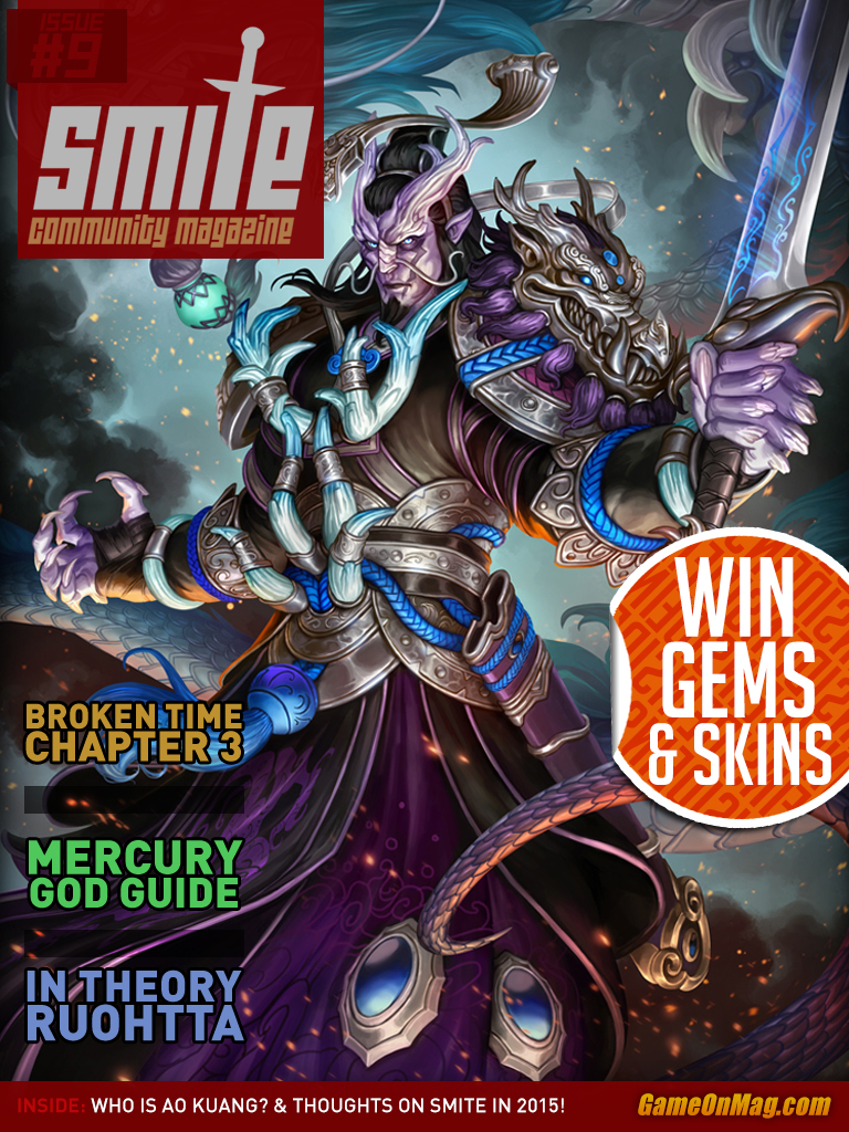 SMITE Community Magazine Issue #9