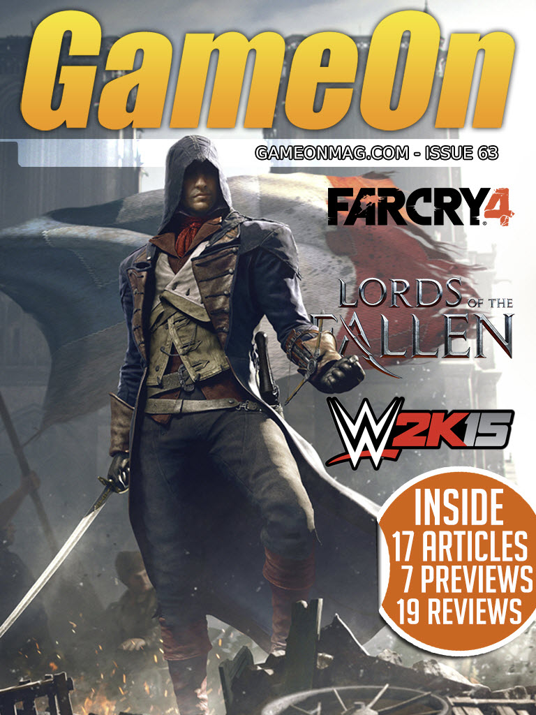 GameOn Magazine – Issue #63