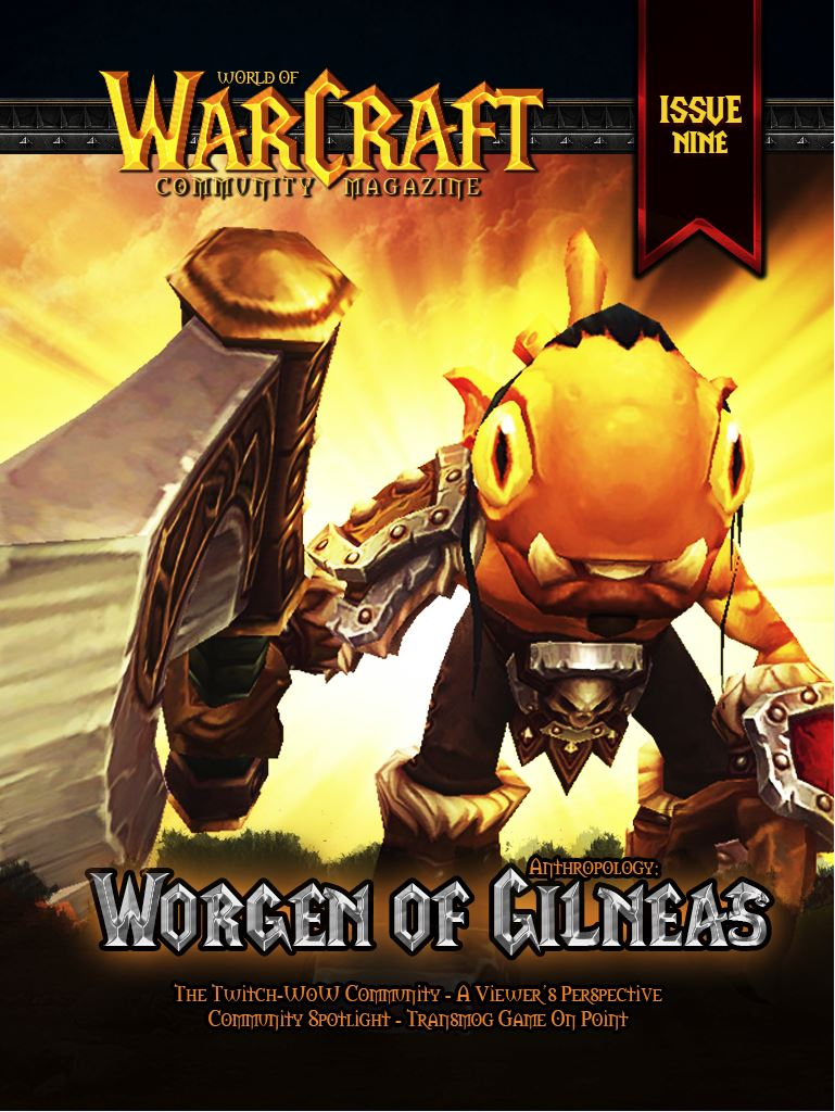 World of Warcraft Community Magazine Issue #9