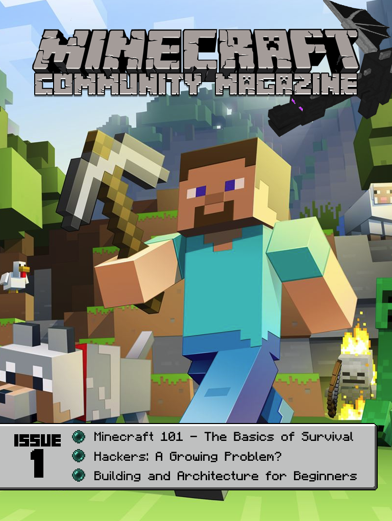 Minecraft Community Magazine Issue #1