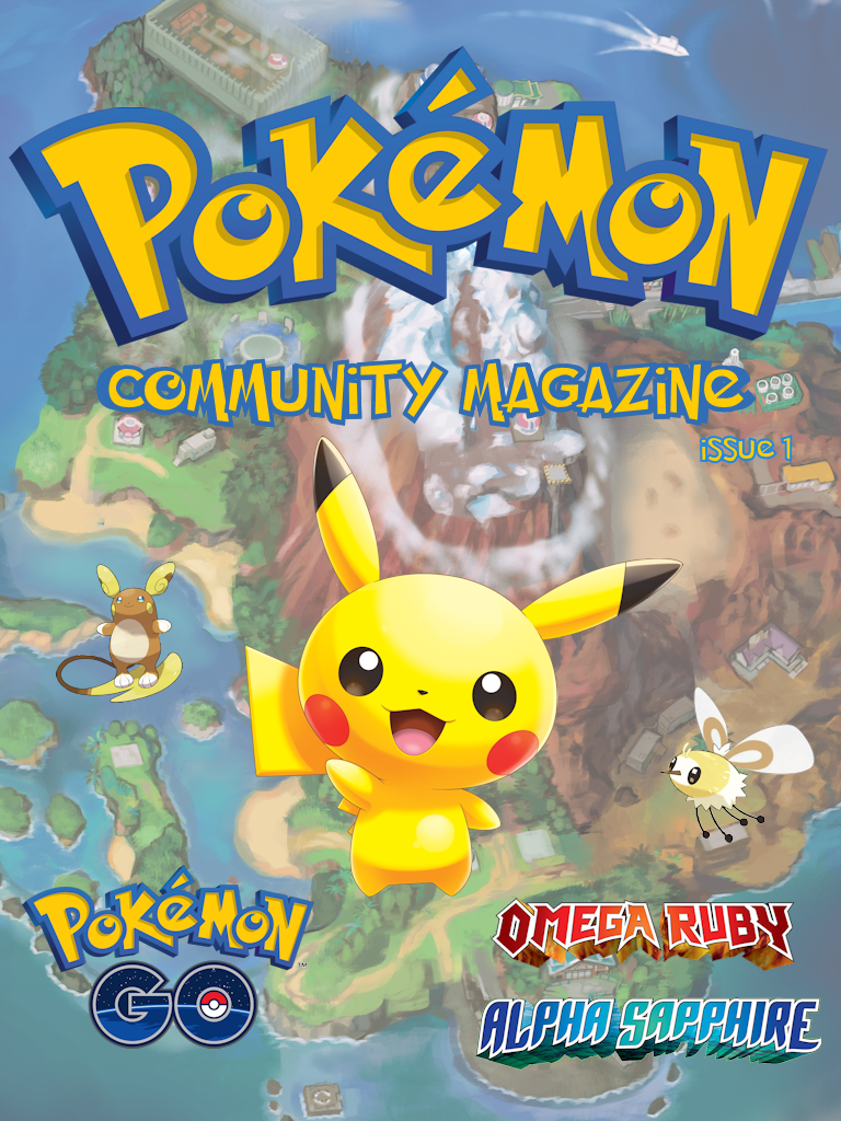 Pokémon Community Magazine Issue #1