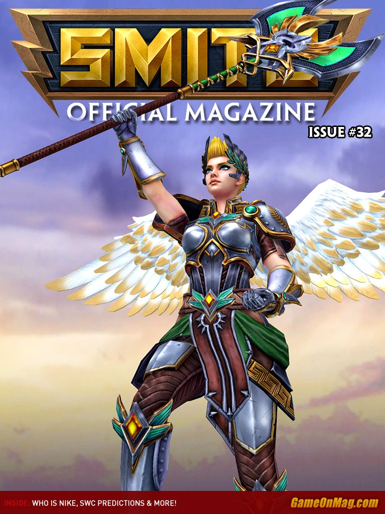 Official SMITE Magazine Issue #32