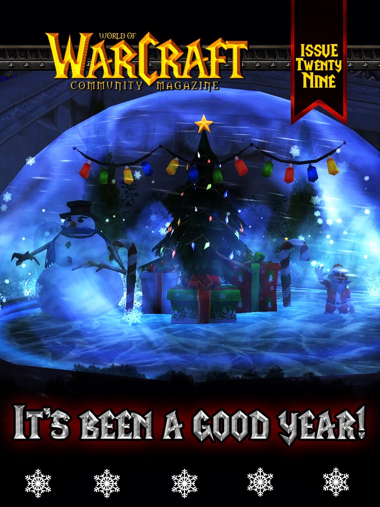 World of Warcraft Community Magazine Issue #29