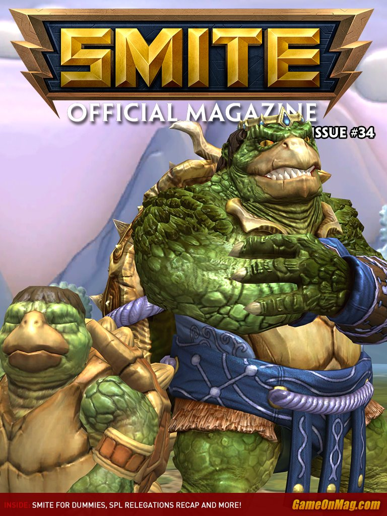 Official SMITE Magazine Issue #34
