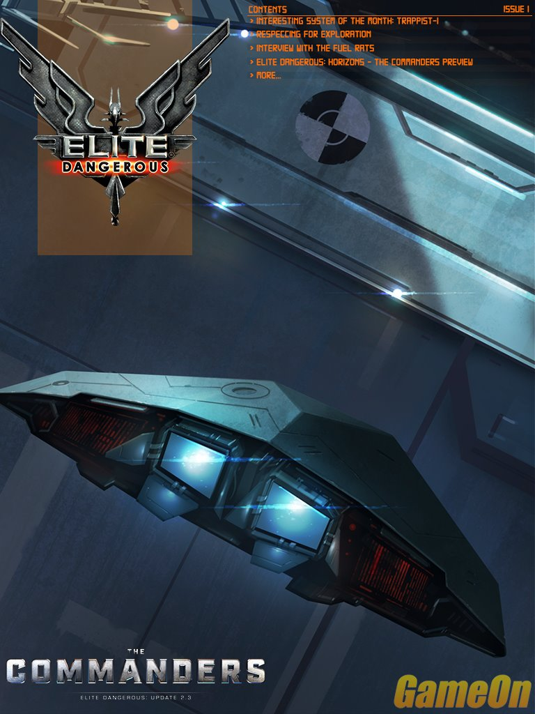 Elite Dangerous Magazine Issue 1