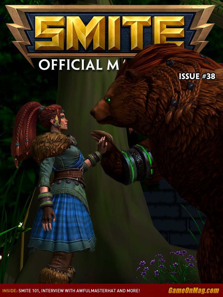 Official SMITE Magazine Issue #38
