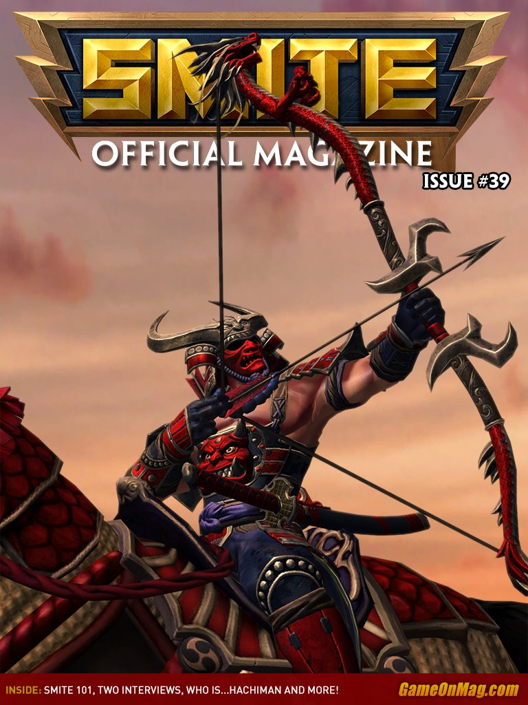 Official SMITE Magazine Issue #39