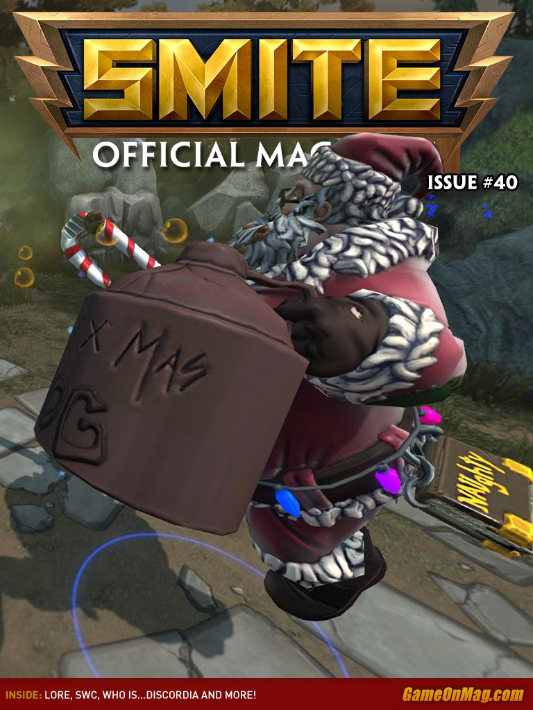 Official SMITE Magazine Issue #40