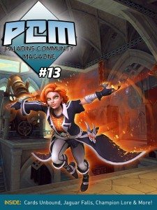 Paladins Issue 13 Cover