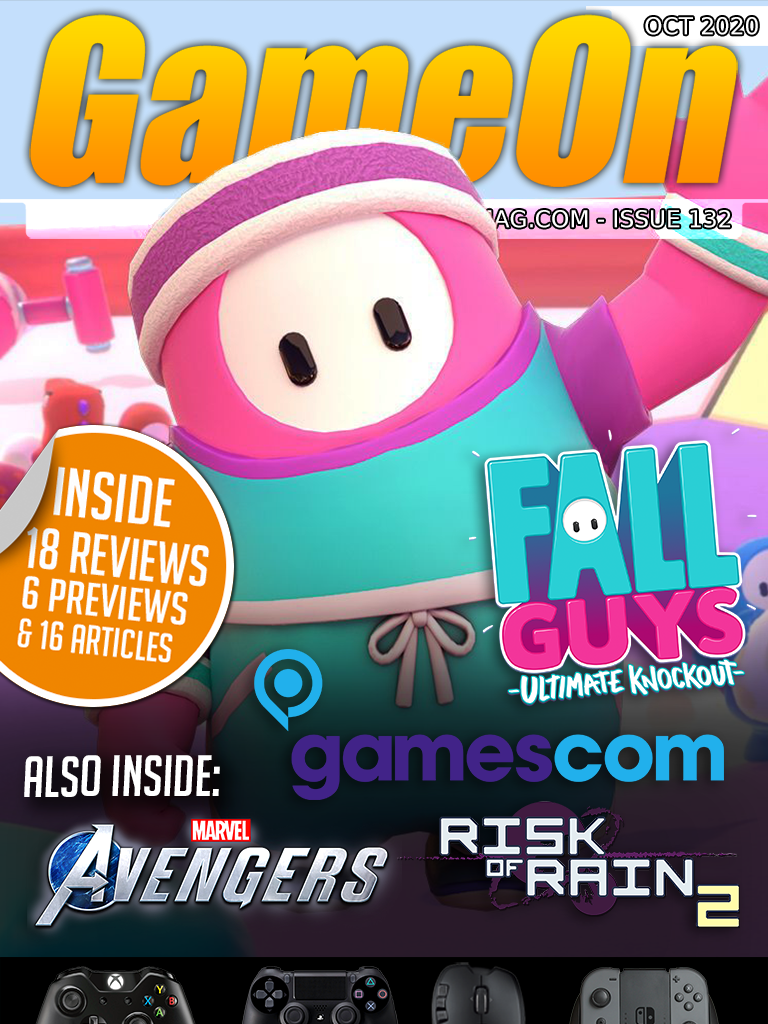 Issue #132 of GameOn Magazine Now Available to Read
